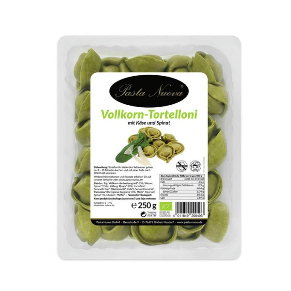 LOGO_Green Tortelloni with cheese and spinach