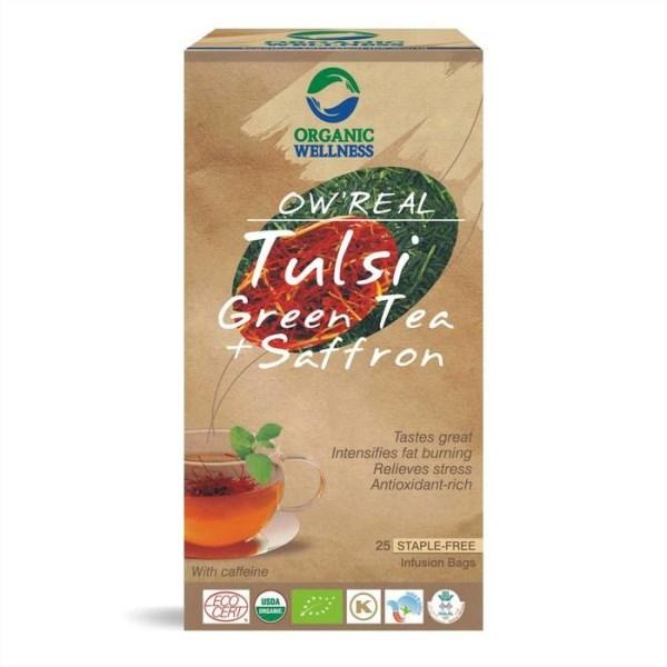 LOGO_OW Real Tulsi Grüner Tee Safran