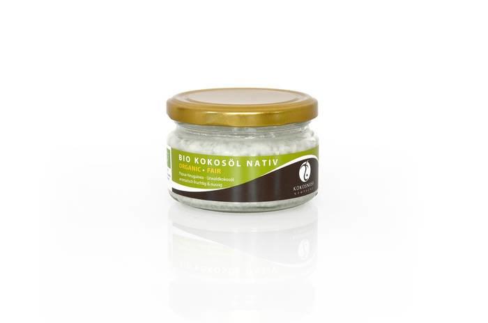 LOGO_URWALD KOKOSÖL – 165 ml – aromatisch fruchtig & nussig