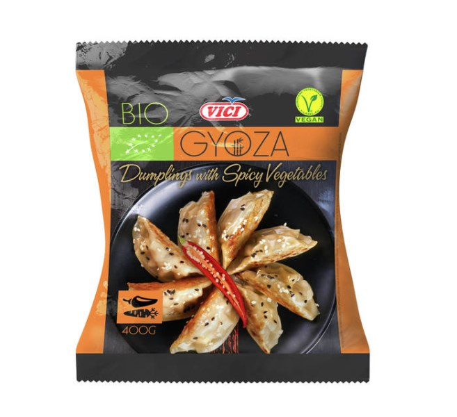 LOGO_BIO dumplings with spicy vegetables