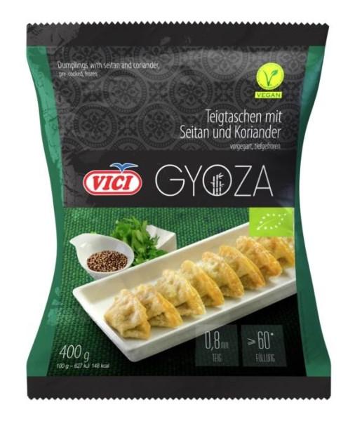 LOGO_BIO dumplings with seitan and coriander