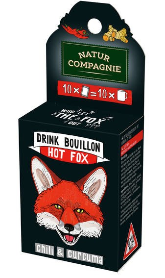 LOGO_NATUR COMPAGNIE DRINK BOUILLON HOT FOX * CURCUMA & CHILI *