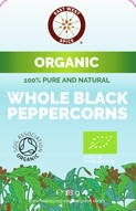 LOGO_East West Spice ™ Organic Whole Black Peppercorn
