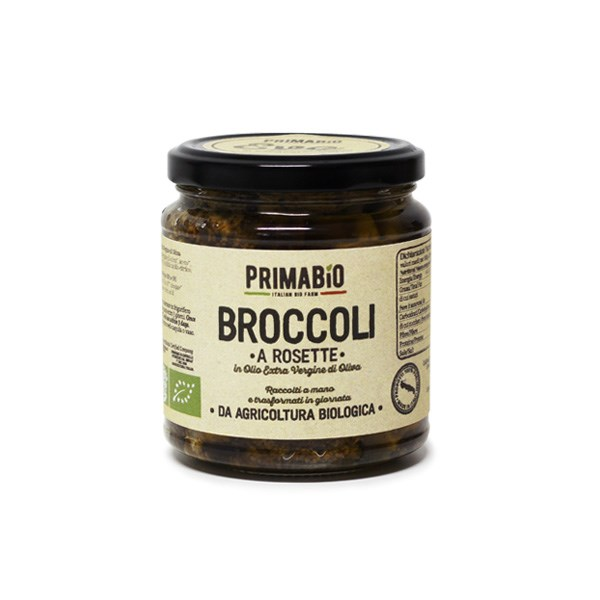 "LOGO_""NEW"" – ORGANIC BROCCOLI WITH EXTRA VIRGIN OLIVE OIL"