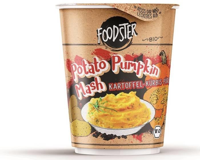LOGO_FOODSTER Organic Potato Pumpkin Mash