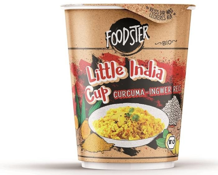 LOGO_FOODSTER Organic Rice Cup 'Little India'