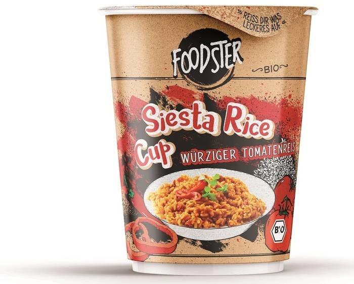 LOGO_FOODSTER Siesta Rice Cup: Würziger Tomatenreis in Bio-Qualität