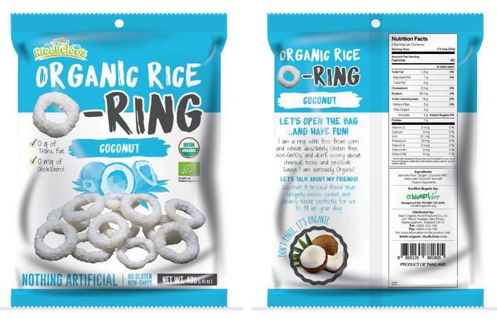 LOGO_Ricelicious Organic Rice o Ring Coconut flavor