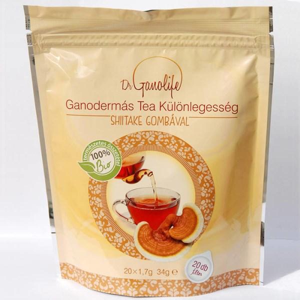 LOGO_Dr. Ganolife Ganoderma Speciality WIHT SHIITEKE MUSHROOMS