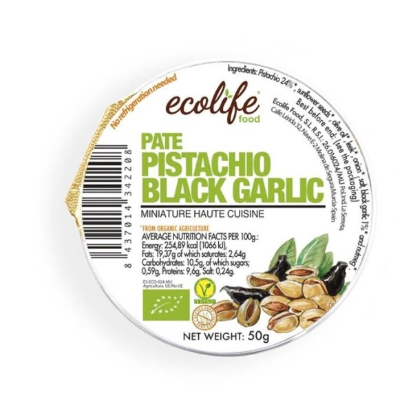 LOGO_Pistachio and black garlic pâté