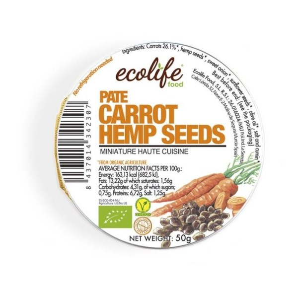 LOGO_Carrot and hemp seeds pâté