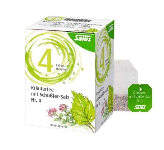 LOGO_Salus® Kräutertee mit Schüßler-Salz Nr. 4 – Kalium chloratum