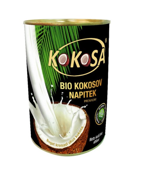"LOGO_""KOKOSA"" ORGANIC VIRGIN COCONUT MILK"