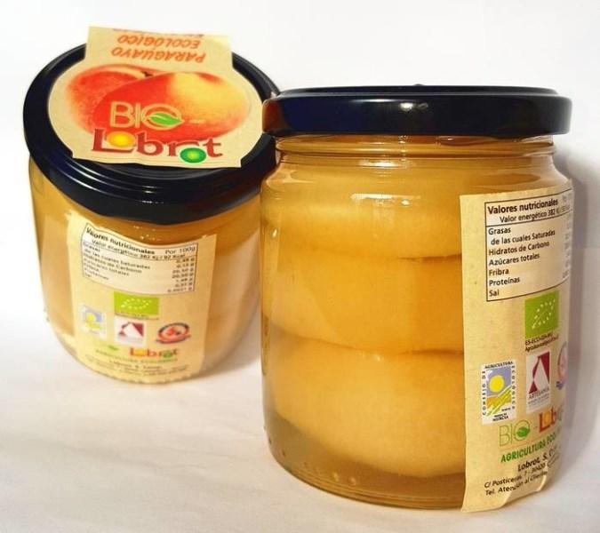 LOGO_Flat peach in syrup.