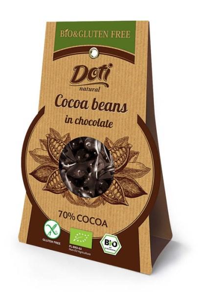 LOGO_Bio Kakaobohnen in Schokolade