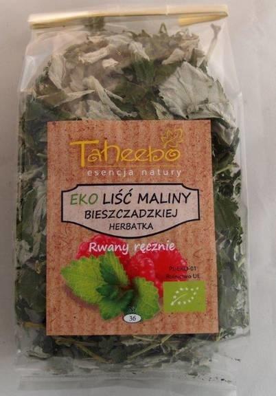 LOGO_BIO raspberry leaf from Bieszczady