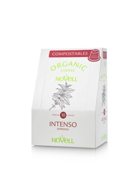 LOGO_NOVELL ORGANIC COMPOSTABLE CAPSULES INTENSO