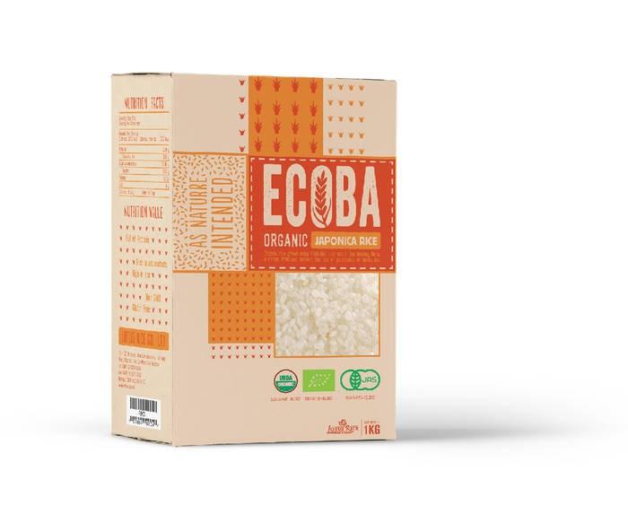 "LOGO_""ECOBA"" Organic Japonica Rice"