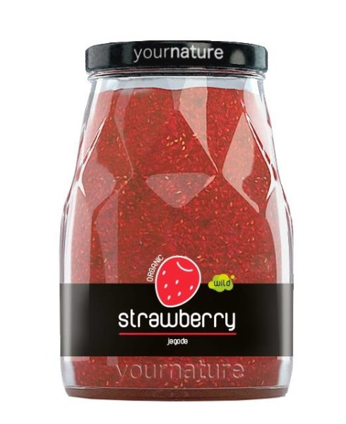 LOGO_YourNature  Strawberry  jam 250g