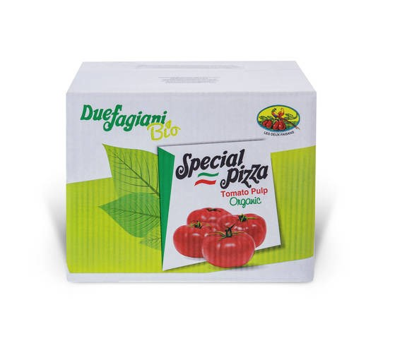 LOGO_Organic Crushed Tomatoes 10x10mm in 2,6kg bag in box