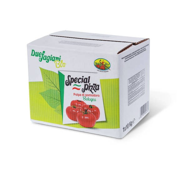 LOGO_Organic Crushed Tomatoes 10x10mm in 5kg bag in box