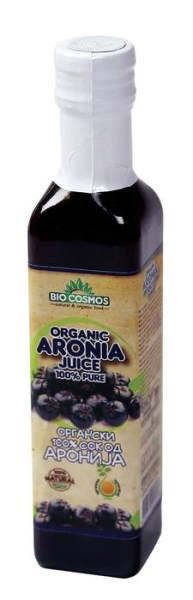LOGO_100%  (Organischer) Bio-Saft aus Aronia 250ml