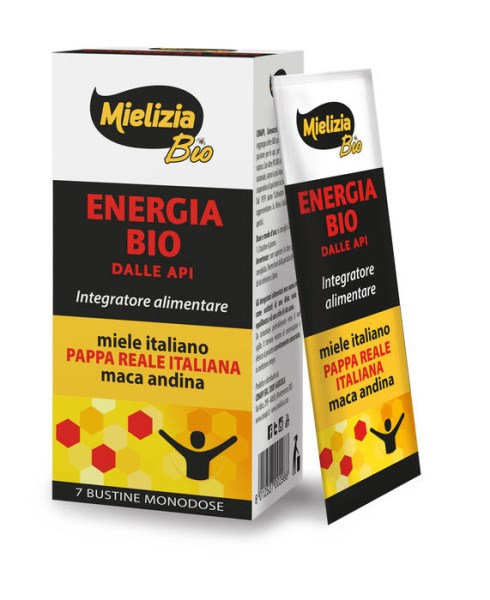 LOGO_ENERGIA BIO DALLE API IN 7 BUSTINE / BIO Energy from Bees in 7 Sachets