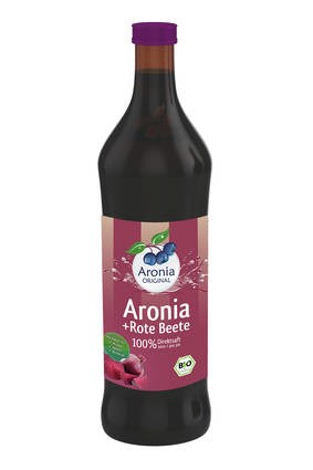 LOGO_Organic Aronia + Beetroot Juice 100 % not from concentrate