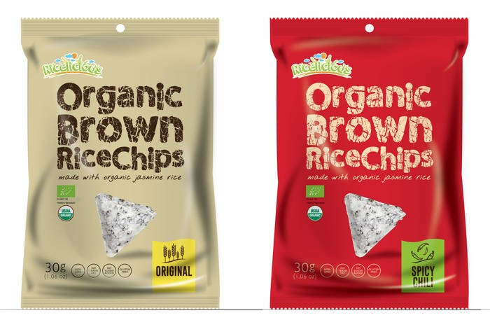 LOGO_Ricelicious Organic Brown Rice Chip