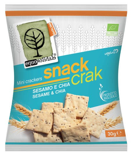 LOGO_SNACK CRAK Mini Crackers with Sesame and Chia seeds