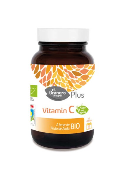 LOGO_ORGANIC VITAMIN C  - FOOD SUPPLEMENT EL GRANERO INTEGRAL