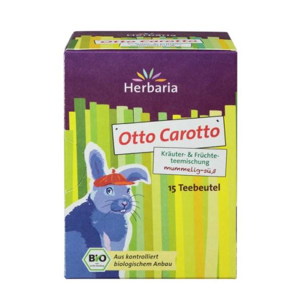 LOGO_Otto Carotto - Bio-Kräuter- & Früchteteemischung mit Karotte und süßen Brombeerblättern, mummelig-süß
