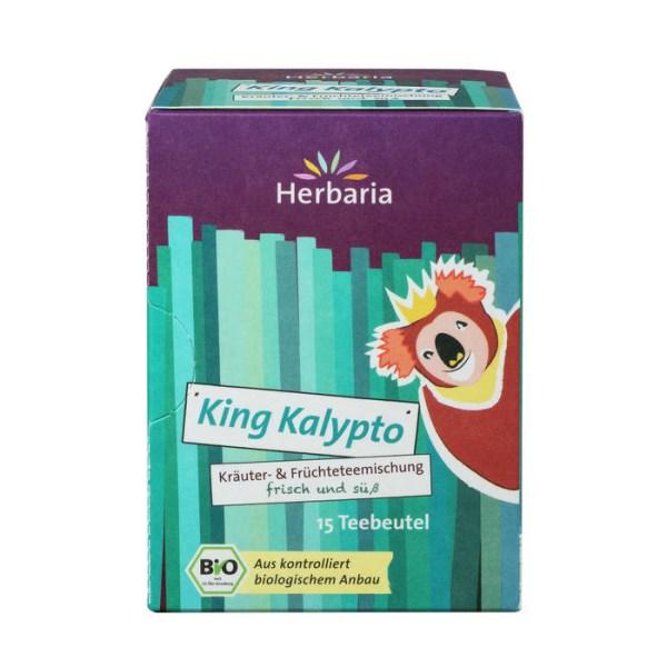LOGO_King Kalypto - Bio-Kräuter- & Früchteteemischung mit Eucalyptus und süßen Brombeerblättern - frisch und süß