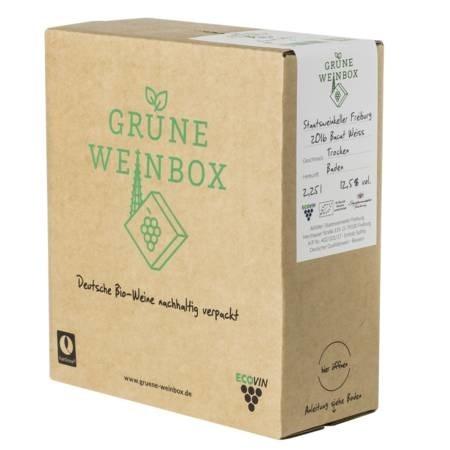 LOGO_2016 organic dry Bacat weiß Staatsweinkeller Grüne Weinbox