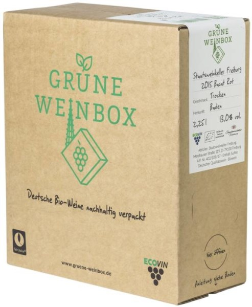 LOGO_2015 organic dry Bacat rot Staatsweinkeller Grüne Weinbox