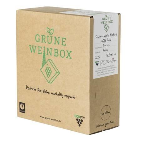 LOGO_Organic Rosé trocken 2016 | Staatsweinkeller Freiburg | Grüne Weinbox