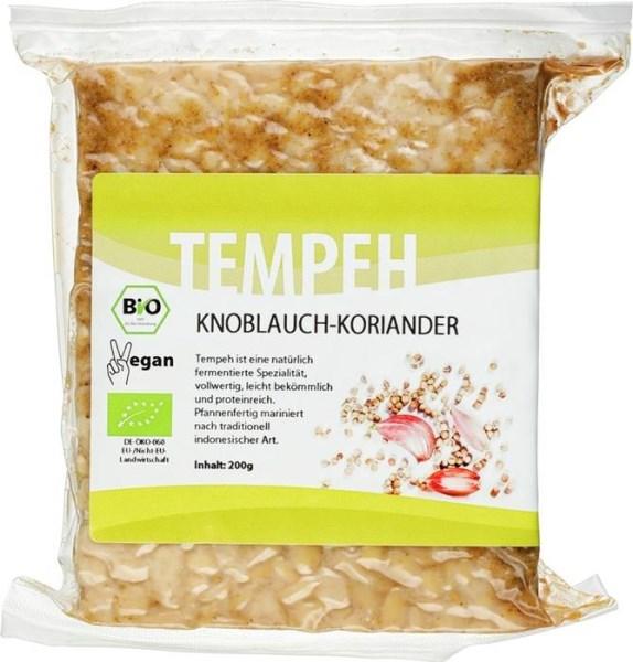 LOGO_Tempeh Knoblauch-Koriander, 200g