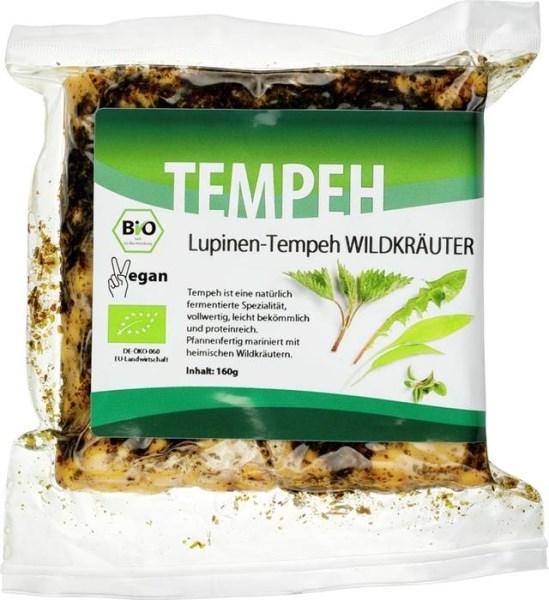 LOGO_Lupinen-Tempeh Wildkräuter, 160g