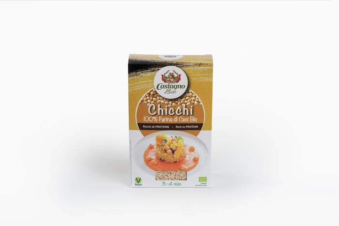 "LOGO_ORGANIC 100% CHICKPEAS ""RICE STYLE"" - PROTEIN LINE"