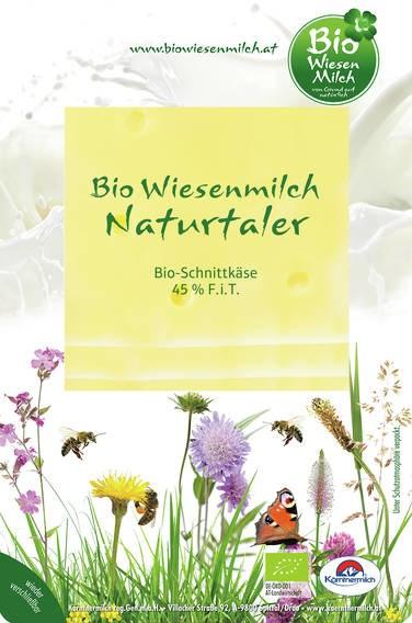 LOGO_Bio Wiesenmilch Naturtaler Slices 100g