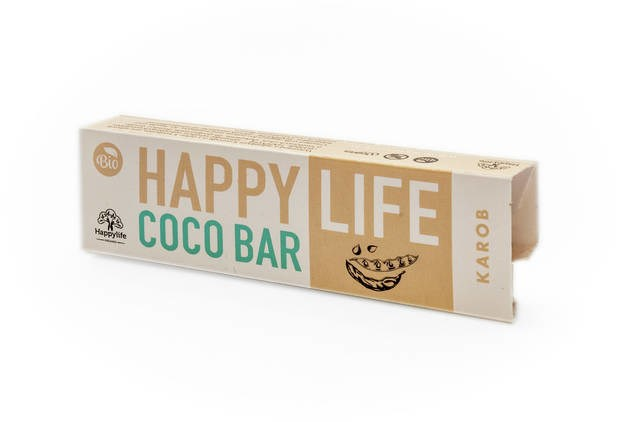LOGO_HAPPYLIFE COCO BAR - Organic Coconut bar with Carob