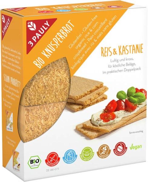 LOGO_Glutenfreies Bio Knusperbrot Reis & Kastanie