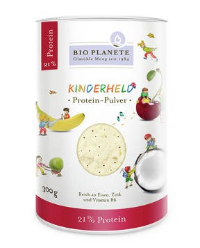 "LOGO_BIO PLANÈTE Protein Powder ""Kids Champion"" 300 g"