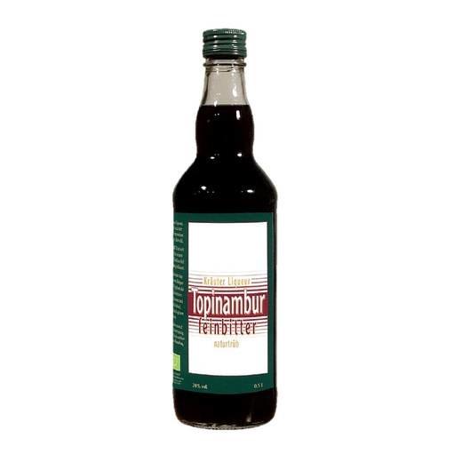 "LOGO_Topinambur feinbitter Herbal liquor 20 % alc. ""naturally-cloudy"""