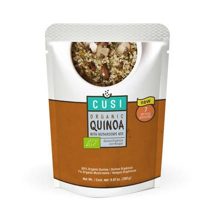 LOGO_Organic Quinoa with Mushrooms