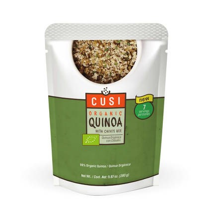 LOGO_Organic Quinoa with Chives