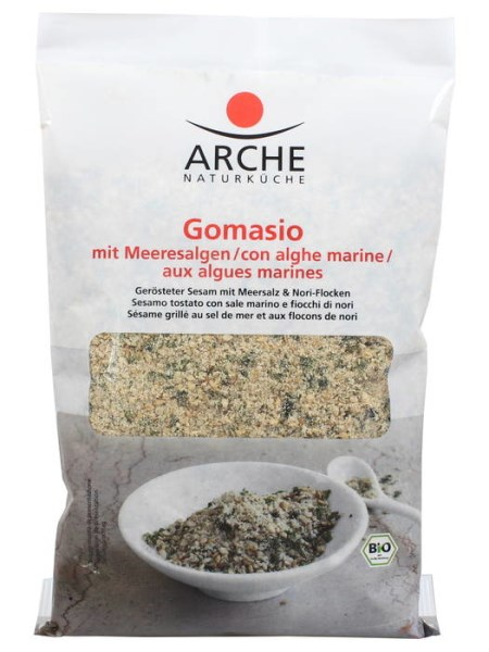 LOGO_Gomasio with seaweed   Roasted sesame with sea salt & seaweed