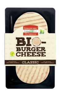 LOGO_Organic Burger Cheese 160 g