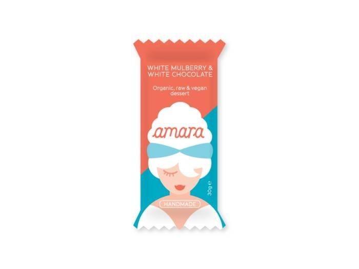 LOGO_amara White Mulberry & z o t t e r® White Rice Chocolate