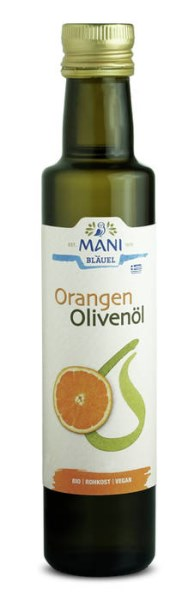 LOGO_MANI organic olive oil with orange